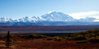 Denali (Mount McKinley) and the Alaska Range in Autumn