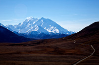 Driving to Alaska's Denali (Mount McKinley) in Autumn