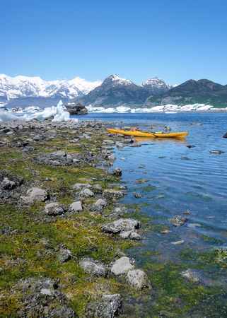 Kayak in Alaska's Prince William Sound