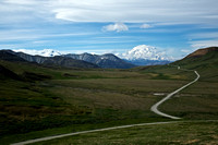 Road to Alaska's Denali
