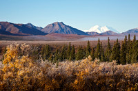 Alaska's Denali (Mount McKinley) on a frosty autumn day